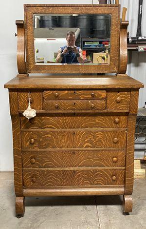 Antique Rare Tigers Wood Dresser for Sale in Chandler, AZ