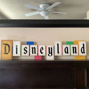 Disneyland sign handmade for Sale in Pico Rivera, CA