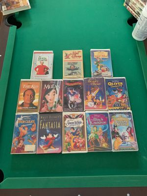 Walt Disney Masterpiece Edition VHS Tapes!!! for Sale in Cleveland, OH