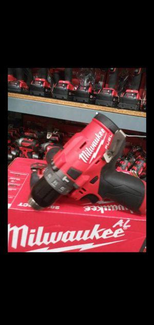 MILWAUKEE M12 FUEL BRUSHLESS HAMMER DRILL NEW EDITION for Sale in San Bernardino, CA