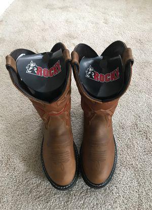Rocky Original Ride Branson Saddle Roper Western Boot Size 9M for Sale in Concord, NC