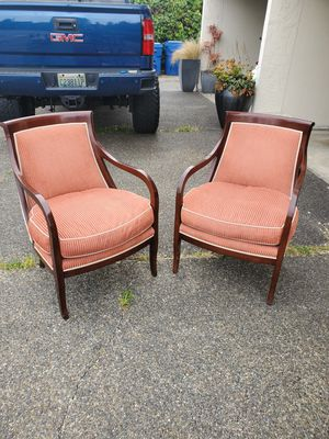 Tradiotional High Back Chairs for Sale in Seattle, WA