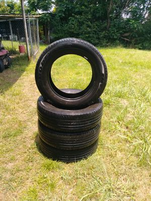 Set of four used Goodyear p215/65r17. Still have good tread. for Sale in Alamo, GA