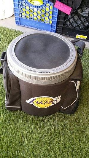 Lakers Mini Cooler with Storage for Sale in Oceanside, CA