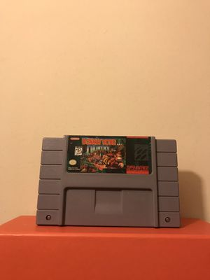 Super Nintendo Game:Donkey Kong Country Plays Fine Good Condition for Sale in Reedley, CA