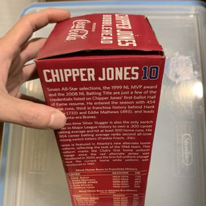 Chipper Jones Bobblehead Memorabilia for Sale in Marietta, GA