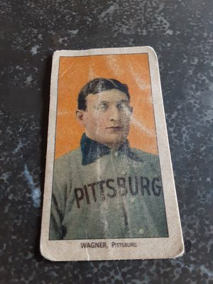 Honus Wagner 1909 - 1911 T206 Tobacco Cycle Cigarettes Distressed Reprint Baseball Card for Sale in Naples, FL