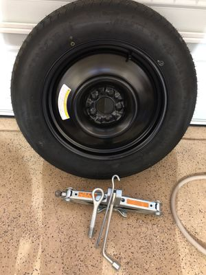 Nissan Murano Spare tire and jack. for Sale in Stone Ridge, VA
