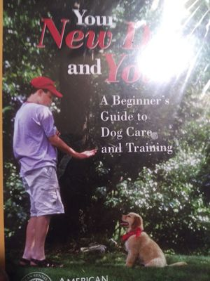 Train your new dog video for Sale in Mount Laurel Township, NJ