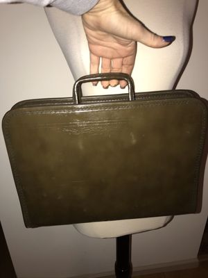 C H Ellis green leather carrying case tool insert for Sale in Philadelphia, PA
