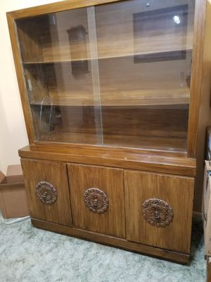 China Cabinet (Large)$100 OBO for Sale in San Lorenzo, CA