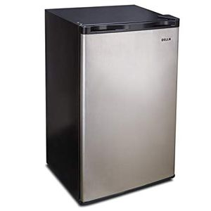 Della Stainless Steel Mini Freezer 3.0 Cubic ft Upright Single Reversible Door for Sale in Miami, FL