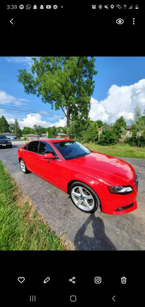 Super clean Audi A4 with S line package. Fully loaded Bang Olfuson sound system. for Sale in Itasca, IL