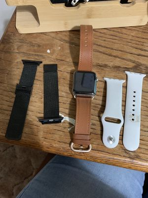 Apple Watch series 3 stainless steel . 38mm for Sale in Beaumont, CA