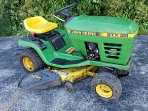 "John deere 38"" riding lawn mower tractor for Sale in Itasca, IL"