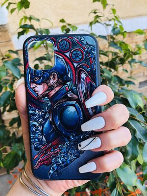 Brand new cool iphone 11 REGULAR case cover rubber Captain America marvel avengers endgame comics superhero mens guys hypebeast hypebae womens girls for Sale in San Bernardino, CA