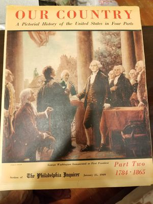 Vintage magazine our country the Philadelphia inquirer January 25 1949 for Sale in Forest Heights, MD