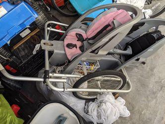 Bike trailer for 2 kids for Sale in Orlando,  FL