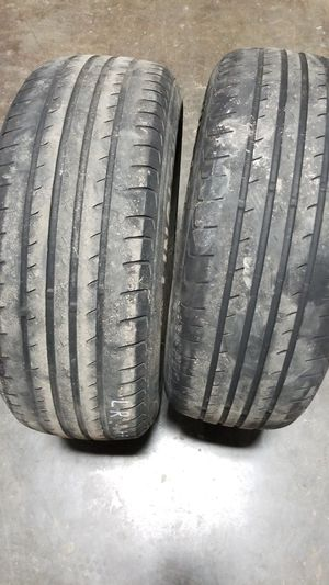Two used tires. No studs. 215 60 16 for Sale in Presque Isle, ME
