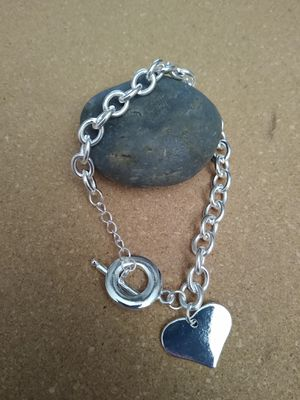 Silver plated charm bracelet for Sale in Richardson, TX