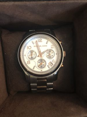 Michael Kors Two toned small runway watch for Sale in Parker, CO