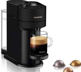 New Nespresso Vertuo Next Coffee and Espresso Machine by De'Longhi - Limited Edition Black Matte for Sale in Fountain Valley,  CA