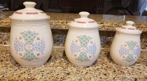 Kitchen Jars, set of 3 from Home Goods. for Sale in Fontana, CA