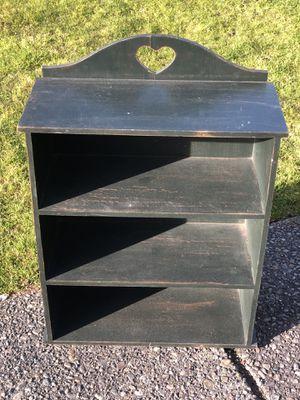 Farmhouse Shelf Small Bookcase for Sale in Puyallup, WA