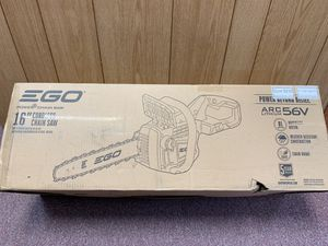 """New 56v EGO 16"""" chainsaw kit w/ 5.0AH and charger for Sale in Waltham, MA"""