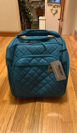 Delsey Quilted Rolling UnderSeat Tote Bag for Sale in West Linn, OR