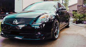 2007 Nissan Altima SE Exterior Color Super Black for Sale in Bismarck, ND