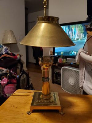Vintage Paris Orient Express Istanbul Lamp for Sale in Travelers Rest, SC