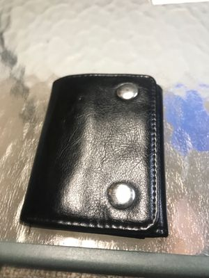 Leather wallet for Sale in North Smithfield, RI