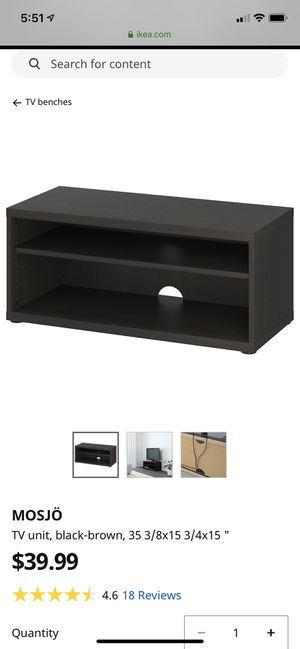IKEA TV stand for Sale in Severn, MD
