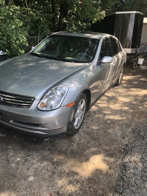 Infiniti part out let me know what u want still runs and drives for Sale in Rockland, MA