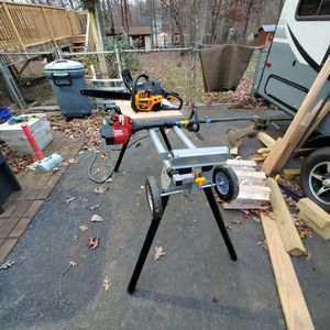 Saw Stand ,chain Saw And Weedeater for Sale in Madison Heights, VA