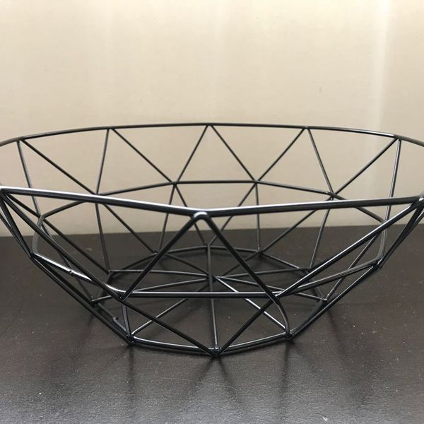 Metal Wire Iron Basket (4 pack)
