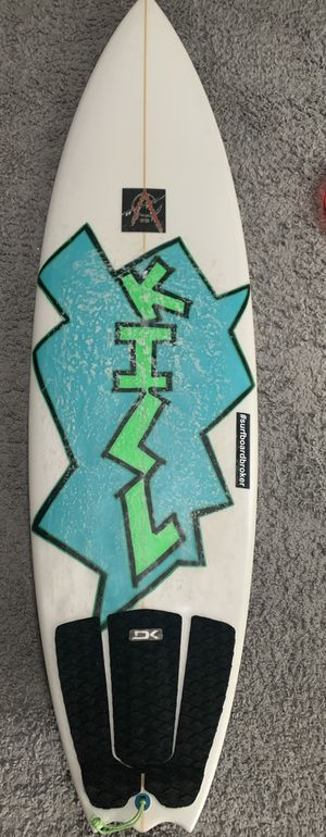 "Gorkin Custom Surfboard 5""11x19.75x2.40 for Sale in Stamford, CT"