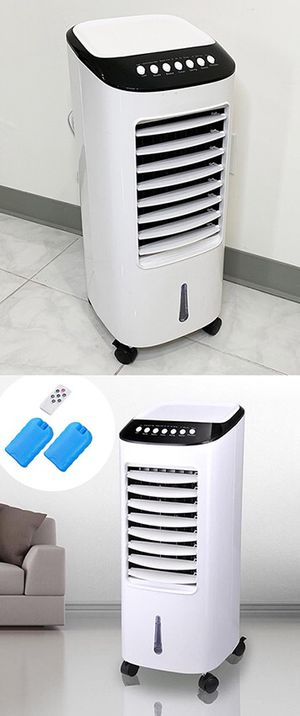 "(NEW) $75 Portable 11x11x27"" Evaporative Air Cooler Fan Indoor Cooling Humidifier w/ Remote Control for Sale in Montebello, CA"