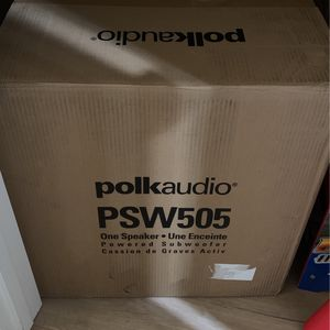 "Polk Audio PSW505 12"" for Sale in San Jose, CA"