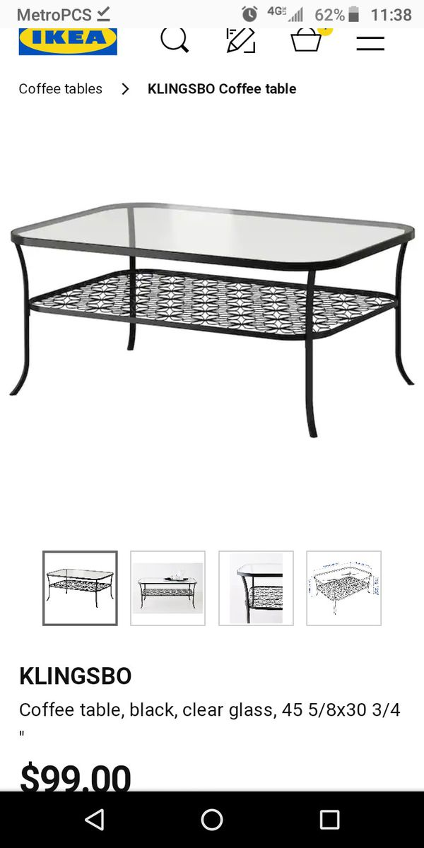 Ikea Klingsbo Coffee Table For In Chula Vista Ca Offerup
