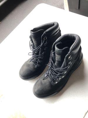 Men's Timberland black boots sz7 for Sale in Manassas, VA