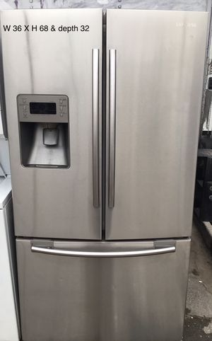 Samsung French doors refrigerator ❄️❄️❄️❄️ for Sale in San Leandro, CA