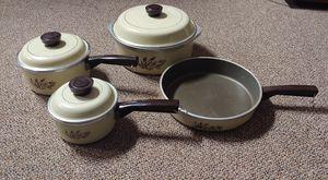 Vintage Cast Iron Range Craft Pot & Pan Set for Sale in Burlington, NC