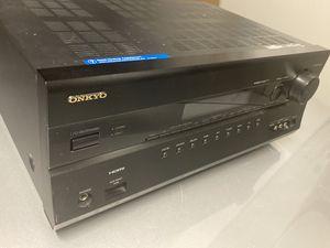 Onkyo TX-SR607 7.2. Channel 140 Watts AV Receiver for Sale in Brentwood, CA
