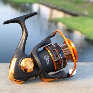 Spinning Fishing Reel 12BB + 1 Bearing Balls 500-9000 Series Metal Coil Spinning Reel Boat Rock Fishing Wheel for Sale in Sandusky, OH