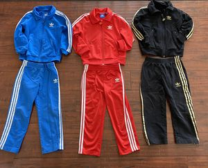 Kids ADIDAS Track Suit Jogging Warm up suit All 3 in size T4 Age 4-5 for Sale in Las Vegas, NV