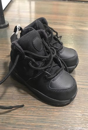 Brand New Nike ACG All Black Boots Shoes Boys Toddler Size 6 for Sale in Tonawanda, NY