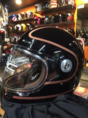 Retro full face helmet (bell bullit style) Motorcycle $190 for Sale in Norwalk, CA