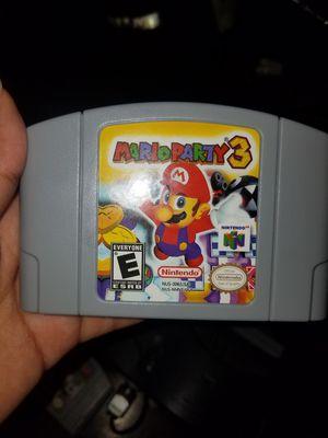 Mario party 3 for Sale in Miami, FL